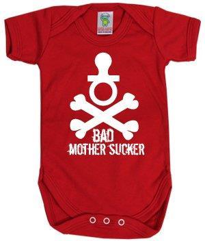 Bad Mother Sucker Baby Body - 6-12 Months - Taglia 68/74