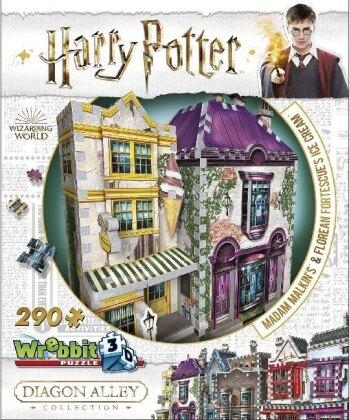 Harry Potter: Madam Malkins & Florean Fortescue Eissalon - 3D Puzzle
