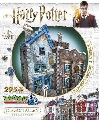 Harry Potter: Ollivanders Zauberstabladen & Scribbulus' - 3D Puzzle