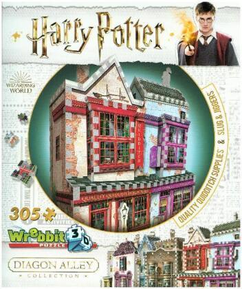 Harry Potter: Quidditch & Slug & Jiggers Apotheke - 3D Puzzle