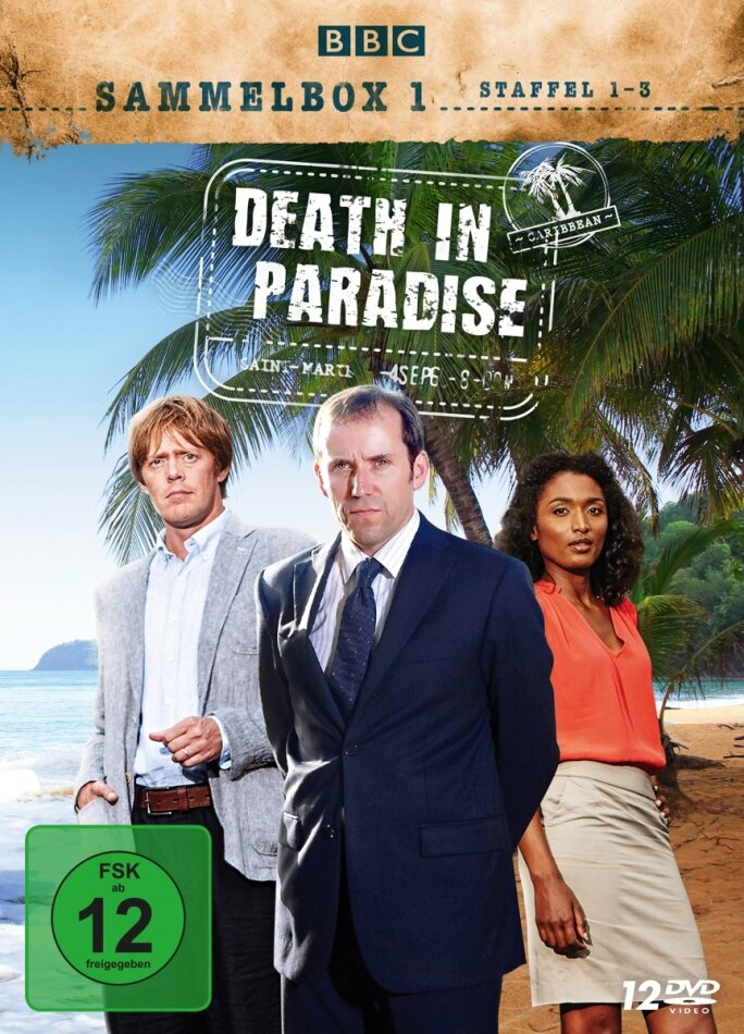 Death in Paradise - Staffel 1-3 (BBC, 12 DVDs)