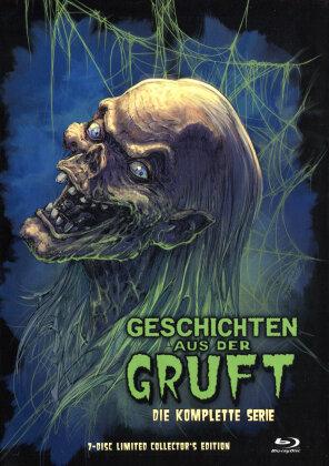 Geschichten aus der Gruft - Die komplette Serie (Cover A, Limited Collector's Edition, Mediabook, 7 Blu-rays)