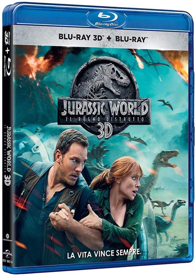Jurassic World 2 - Il regno distrutto (2018) (Blu-ray 3D + Blu-ray)