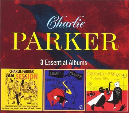 Charlie Parker - 3 Essential Albums (3 CDs)