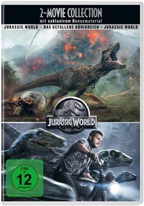 Jurassic World / Jurassic World 2: Das gefallene Königreich (4 DVDs)