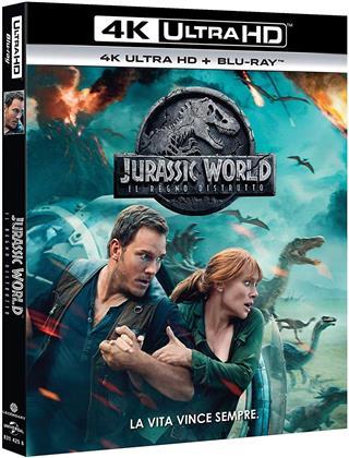 Jurassic World 2 - Il regno distrutto (2018) (4K Ultra HD + Blu-ray)