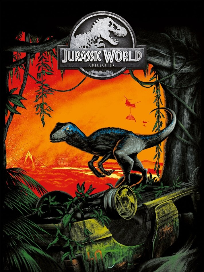 Jurassic World Collection - 5-Movie Collection (5 DVD)