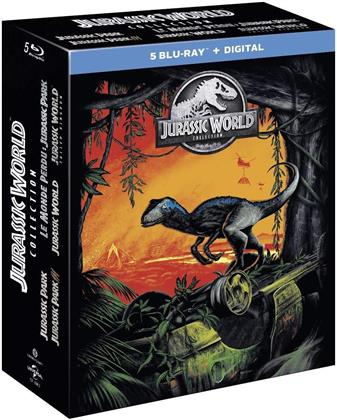 Jurassic World Collection - 5-Movie Collection (5 Blu-rays)