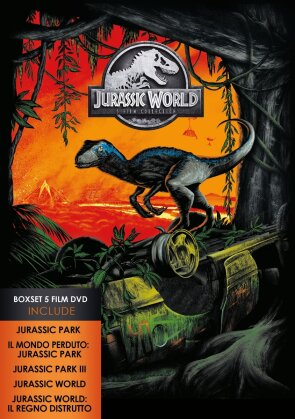 Jurassic World - 5-Movie Collection (5 DVDs)