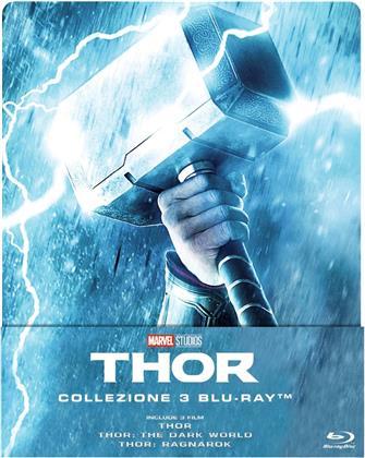 Thor 1-3 (Steelbook, 3 Blu-rays)