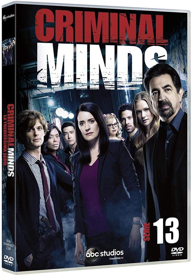 Criminal Minds - Stagione 13 (5 DVDs)