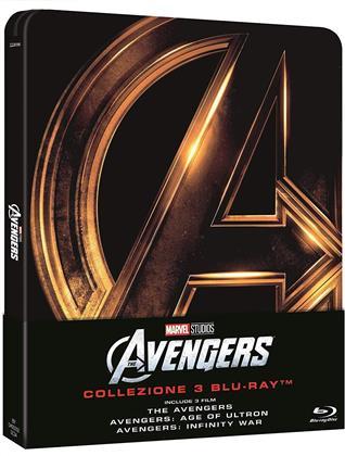 The Avengers 1-3 (Steelbook, 3 Blu-rays)