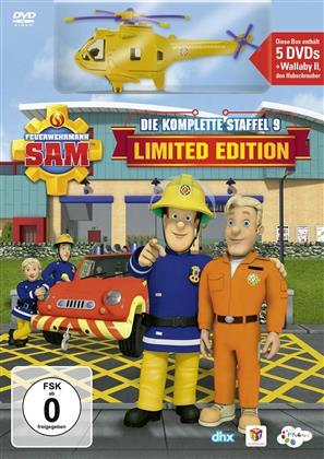 Feuerwehrmann Sam - Staffel 9 (+ Spielzeug, Limited Edition, 5 DVDs)