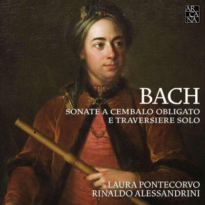 Johann Sebastian Bach (1685-1750), Laura Pontecorvo & Rinaldo Alessandrini - Flötensonaten / Sonate A Cembalo Obligato E Traversiere Solo