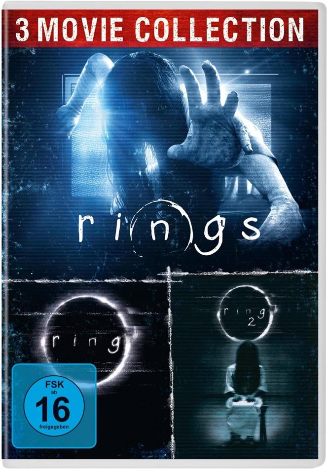 Ring / Ring 2 / Rings (Collector's Edition, 3 DVD)