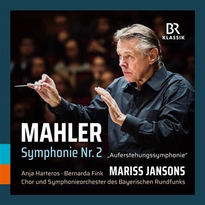 "Anja Harteros, Bernarda Fink, Gustav Mahler (1860-1911) & Mariss Jansons - Symphonie Nr. 2 'Auferstehung"""