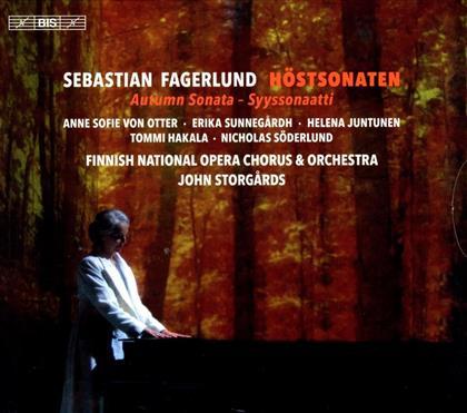 Anne Sophie von Otter, Sebastian Fagerlund, John Storgards & Finnish National Opera - Höstsonaten (Hybrid SACD + SACD)