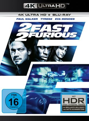 2 Fast 2 Furious (2003) (4K Ultra HD + Blu-ray)