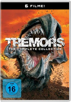 Tremors 1-6 - The Complete Collection (6 DVD)