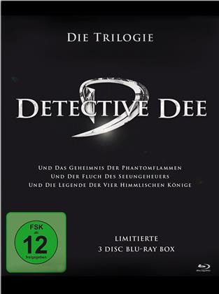 Detective Dee - Die Trilogie (Limited Edition, 3 Blu-rays)