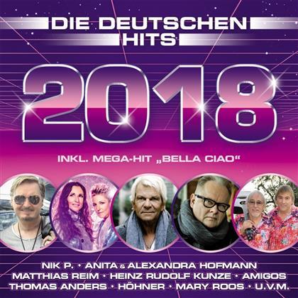 Die Deutschen Hits 2018 (2 CDs)