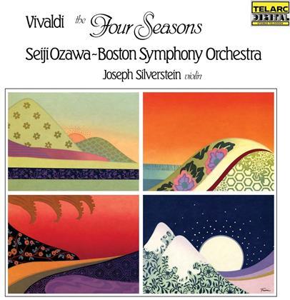 Antonio Vivaldi (1678-1741), Seiji Ozawa, Joseph Silverstein & Boston Symphony Orchestra - The Four Seasons / Die Vier Jahreszeiten (LP)