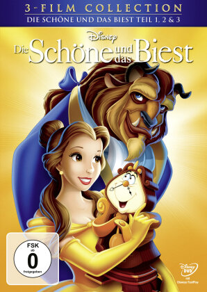Die Schöne und das Biest - Teil 1, 2 & 3 (Disney Classics, 3 DVDs)