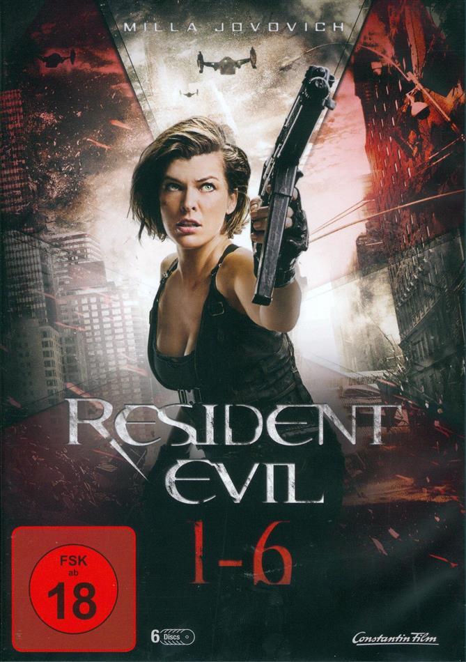Resident Evil 1-6 (6 DVDs)