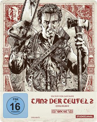 Evil Dead 2 - Tanz der Teufel 2 (1987) (Steelbook, Uncut)