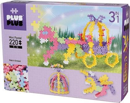 Plus-Plus 3in1 Mini Pastel: Fairy Tale - 220 Teile