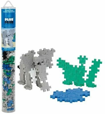 Plus-Plus Mini Tube: Elephant - 100 Teile