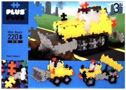 Plus-Plus 3in1 Mini Basic: Road Work - 220 Teile