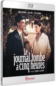 Le journal tombe à cinq heures (1942) (n/b)