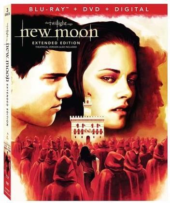 Twilight 2 - New Moon (2009) (Extended Edition, Blu-ray + DVD)