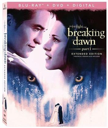 Twilight 4 - Breaking Dawn - Part 1 (2011) (Extended Edition, Blu-ray + DVD)