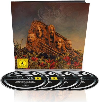 Opeth - Garden of the Titans - Live at Red Rocks Amphitheatre (Earbook, Limited Edition, Blu-ray + DVD + 2 CDs)