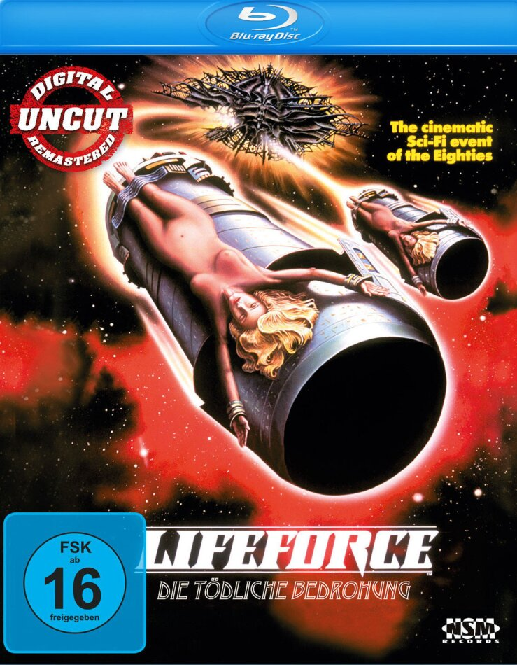 Lifeforce - Die tödliche Bedrohung (1985) (Director's Cut, Remastered, Uncut)