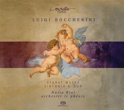 Nuria Rial, Luigi Boccherini (1743-1805) & Orchestre le Phenix - Stabat Mater - Erstfassung 1781 (Hybrid SACD)