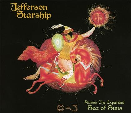 Jefferson Starship - Across The Expanded Sea Of Suns (3 CDs)