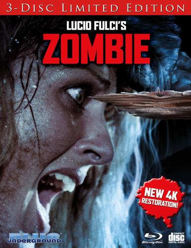 Zombie (1979) (Cover B, 4K Mastered, Limited Edition, 3 Blu-rays)