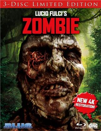 Zombie (1979) (Cover C, 4K Mastered, Limited Edition, 3 Blu-rays)