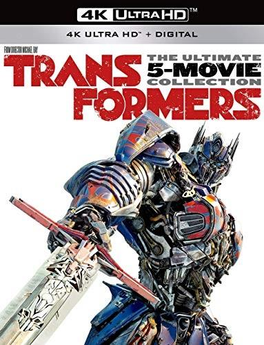 Transformers 1-5 - The Ultimate 5-Movie Collection (5 4K Ultra HDs + 5 Blu-rays)