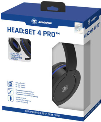 PS4 Headset Head:Set 4 PRO