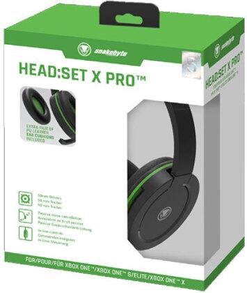 XBOX-ONE Headset Head:Set X PRO