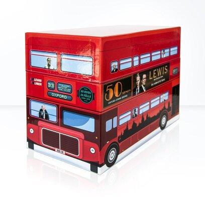 Lewis - Der Oxford Krimi - Gesamtbox (Limited Edition, 21 DVDs)