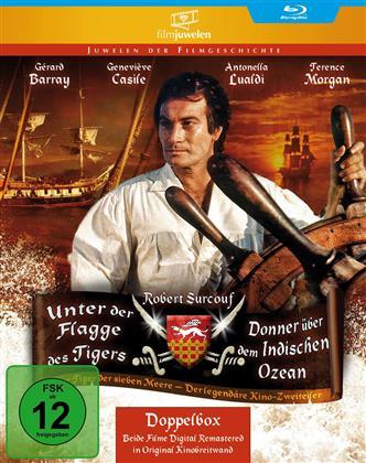Unter der Flagge des Tigers / Donner über dem Indischen Ozean (Filmjuwelen, 2 Blu-rays)