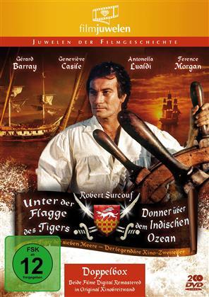 Unter der Flagge des Tigers / Donner über dem Indischen Ozean (Filmjuwelen, 2 DVDs)