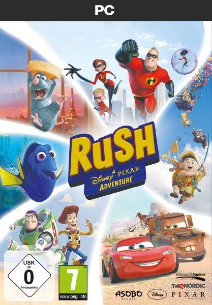 Rush - A Disney-Pixar Adventure