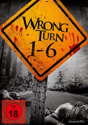 Wrong Turn 1-6 (6 DVDs)