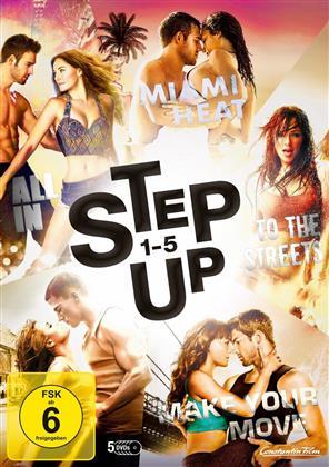 Step Up 1-5 (5 DVDs)